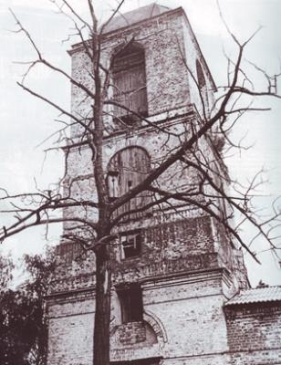 колокольня церкви с. Скомово